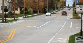 "Village of Little Chute's Reconstruction of Main Street (STH 96) wins 2014 National ""Excellence in Concrete Pavements"" Award"