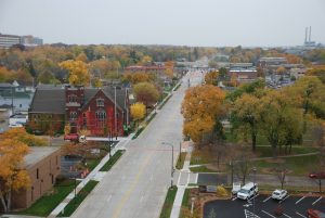 Monroe Avenue Reconstruction - Green Bay, WI - 2015 ACPA Excellence in Concrete Pavements Gold Award Winner: Municipal Streets & Roads greater than 30,000 SY.