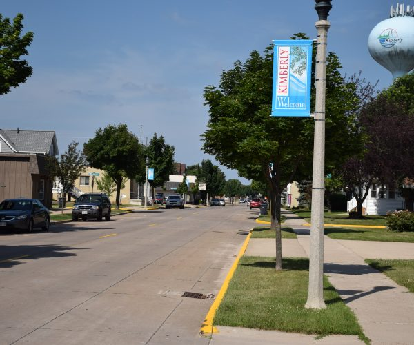 ACPA recognized the Village of Kimberly, Wis., for achieving the milestone of 100 percent concrete roads.